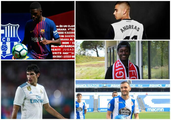 Dembélé y otros jugadores que podrían debutar este fin de semana en La L...