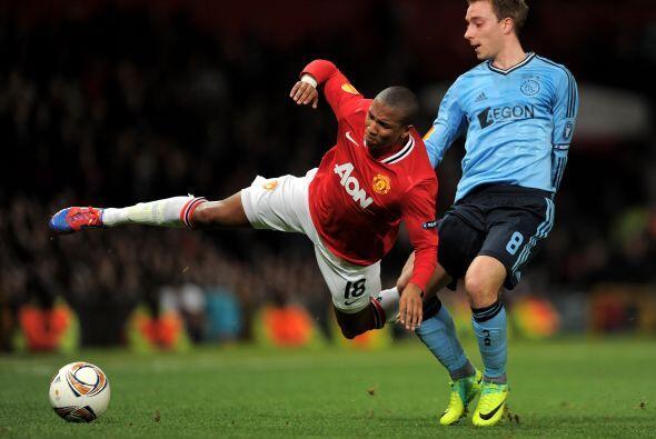 Ya en la segunda etapa, el Manchester United se relajó.