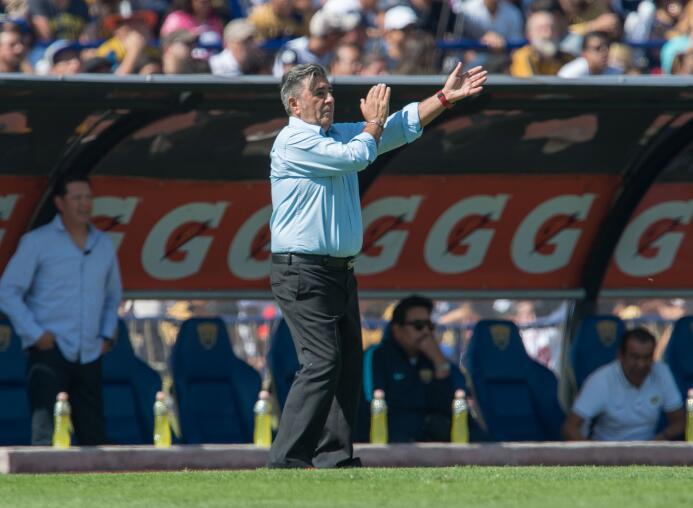 Carlos Reinoso volvió al mapa de los directores técnicos del fútbol mexi...