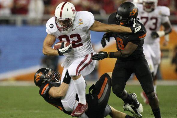 """1. Justin Blackmon - Stanford - Edad 23 años - Estatura 1.98 m (6'6"""") -..."""