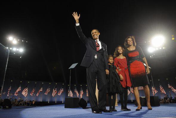 El 4 de noviembre de 2008 fue histórico porque por primera vez un...
