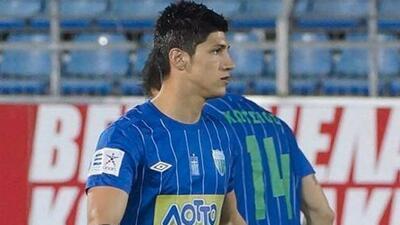 El mexicano no pudo evitar que su equipo perdiera la categoría en Grecia.