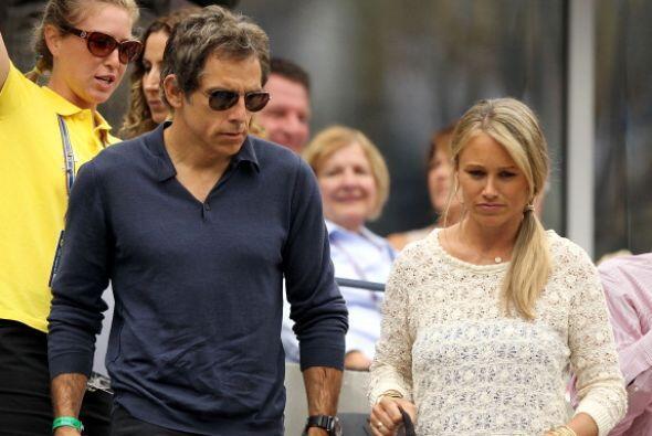 Christine Taylor y Ben Stiller también asistieron a la antepenúltima ron...