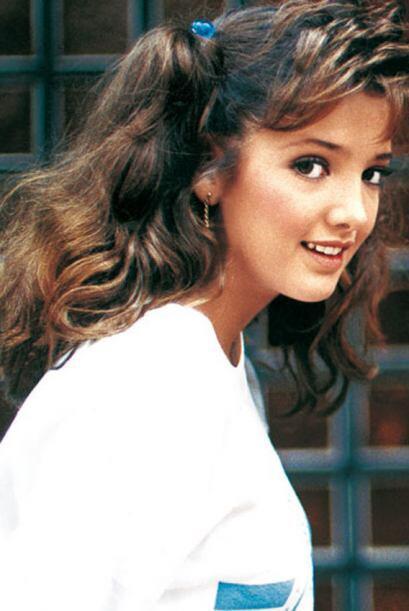 Adela lucía muy joven pero ya hacía un gran trabajo como actriz.