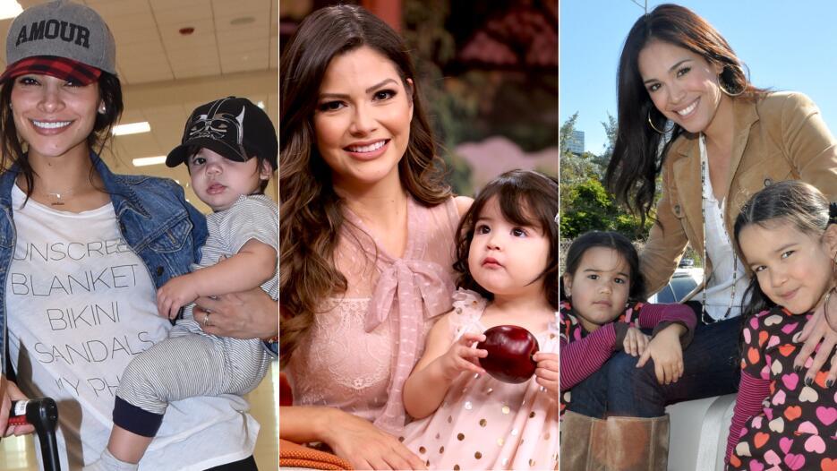 Mamas talentos de univision y sus hijos Pequeños Gigantes USA
