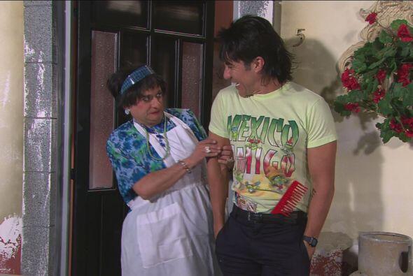Y como le faltaba dinero para la fiesta, fue con Doña Márgara Francisca...