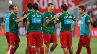 Ocho jugadores de la Liga de España estarán con Portugal ante Irlanda de...