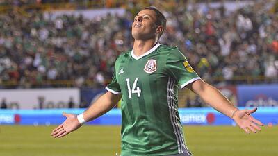 Magníficos 10 goles de 'Chicharito' Hernández con el Tri
