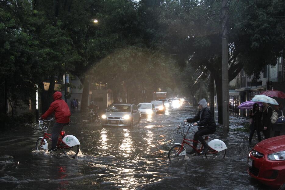 Lluvia Ciudad de México