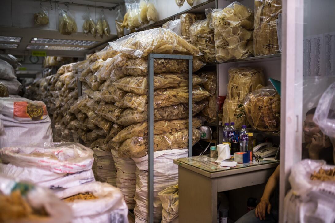 Mercado de totoaba