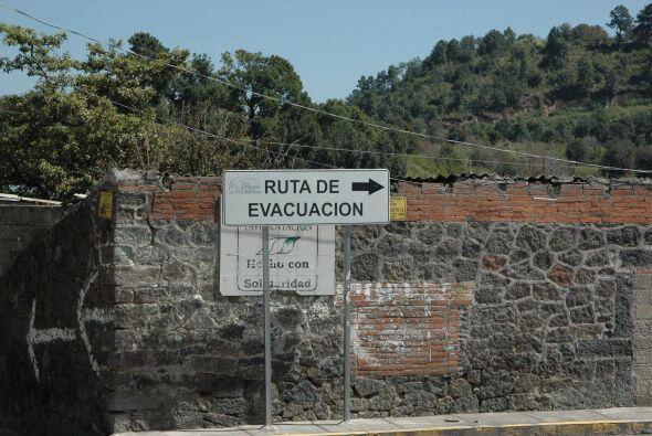 Aunque todos viven cerca del Popo, no le temen en su día a d&iacu...
