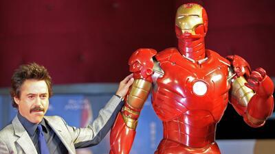 Traje de Iron Man robado