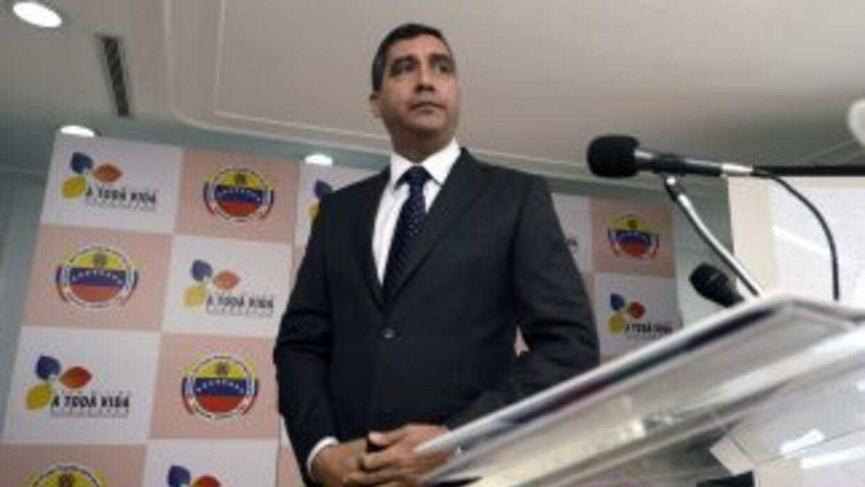 Ministro de Justicia de Venezuela, Miguel Rodríguez Torres.