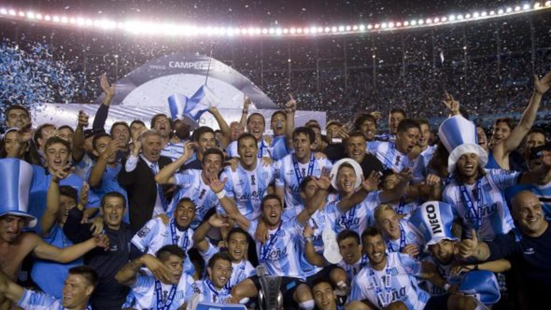 Racing se llevó el título al llegar a 41 puntos, dos más que River Plate.