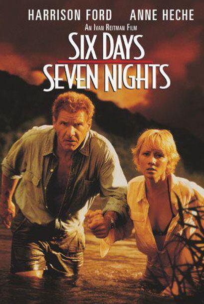 Harrison cayó en una isla... donde pasó 'Seis días siete noches', como e...