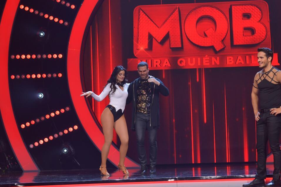 Dayanara Torres y Casper Smart bailaron al ritmo de una canción de Marc...
