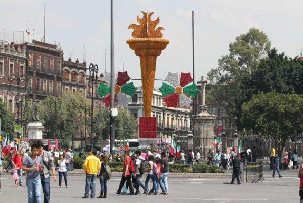 Celebran Independencia de México