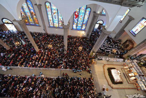 Estimó en más de dos millones los peregrinos que llegaron a la ermita.