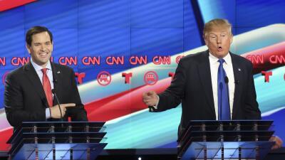 Rubio y Trump