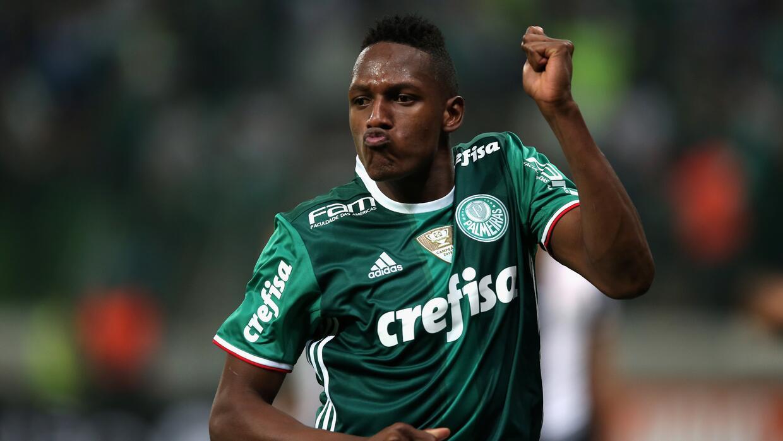 Yerry Mina, Palmeiras