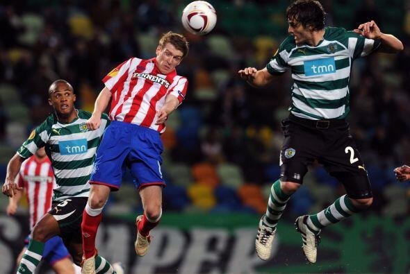 Vino la reacción de los portugueses, primero con el tanto de Pedro Mendes.