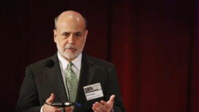 El presidente de la Fed constató que el crecimiento económico ha continu...