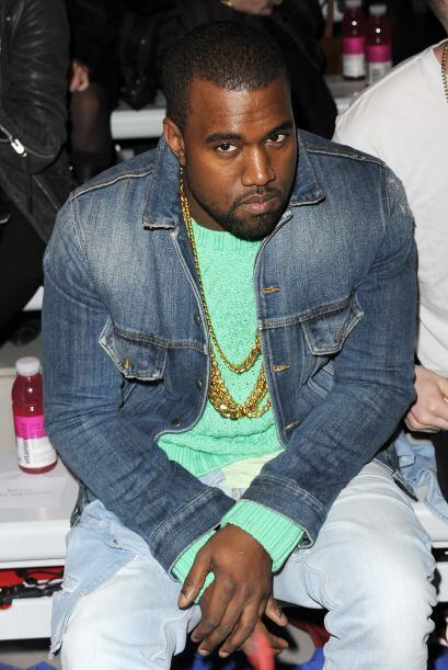 Kanye West vendia ropa en The Gap.