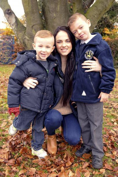 Una de las cosas que más desea Aimee, es darle a sus hijos, la me...