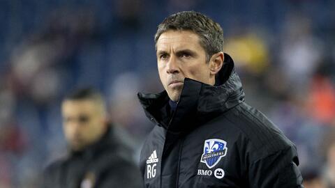 Rémi Garde, un entrenador preocupado en Montréal Impact.