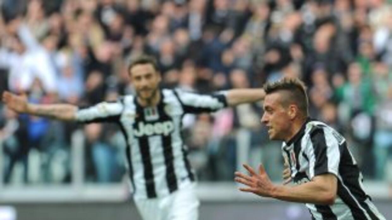 El solitario gol deEmanuele Giaccherini salvó a la 'Vecchia Signora' de...