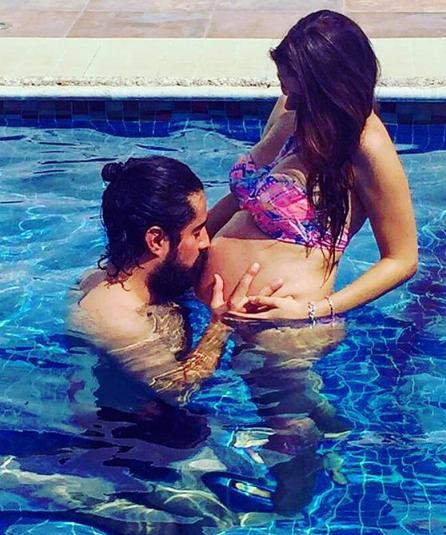 Michelle Renaud muestra fotos de su bebé en redes sociales 5431.png