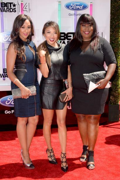 Tamera Mowry-Housley, Jeannie Mai y Loni Love.Mira aquí los video...
