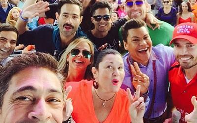Julián Gil armó tremendo reventón en Miami