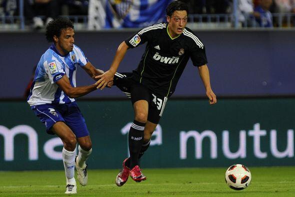 Ozil fuen otra vez el motor creativo del Madrid.