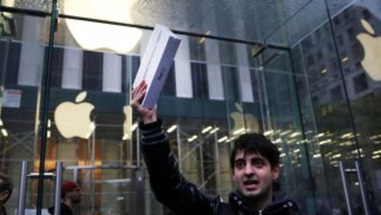 El iPad Air, la nueva versión del Ipad de Apple, empezó a salir este vie...