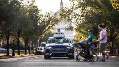 Carros de manejo autónomo llegan a Washington DC