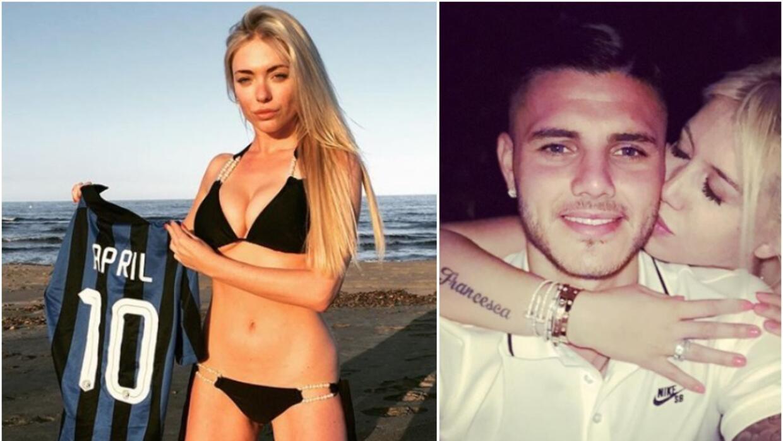 Neymar, Cavani, Mbappé, los ídolos de la sensual Virginia Caprice fanáti...