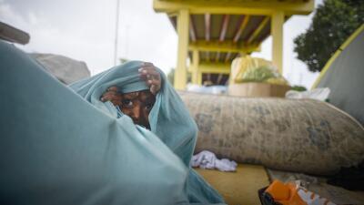 En fotos: Los indígenas venezolanos que huyen de la crisis por la frontera con Brasil