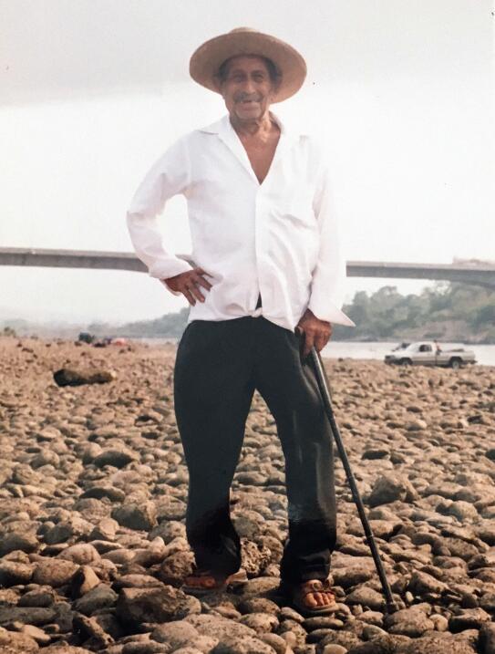 Juan Pablo Villalobos tiene 116 años y afirma que trabajó hasta sus 100....