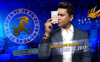 Niño Prodigio - Capricornio 22 de junio 2017