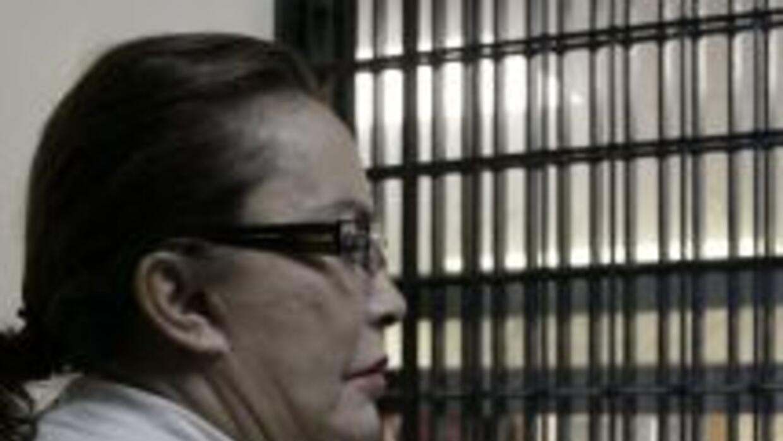 Elba Esther Gordillo tras las rejas.
