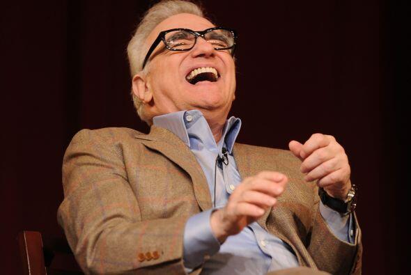 ¿Qué tiene tan sonriente a Mr. Scorsese? Cuando vean el resto de las imá...