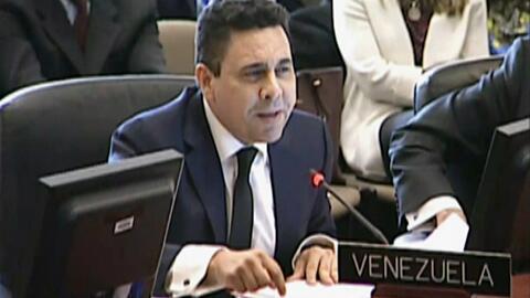"""Venezuela denuncia un """"golpe de Estado"""" en la OEA"""