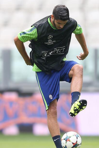 Álvaro Morata es un delantero español de 22 años que la temporada anteri...