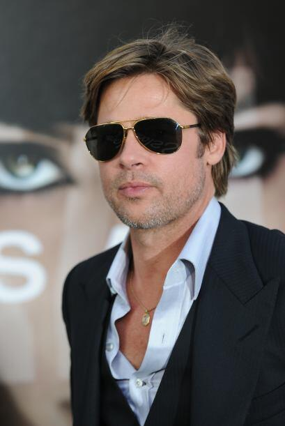 El actor Brad Pitt ronda los 50 años, tiene una familia que formó con la...