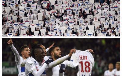 Fanáticos del Lyon respaldaron a Ferki
