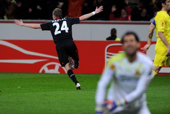 El Villarreal se metió a la casa del Bayer Leverkusen, que comenzó ponié...