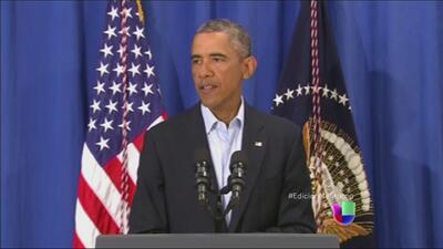 Obama ordena revisar programas que permiten la militarización de la policía