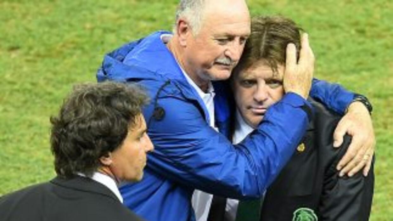 Scolari se dijo contento pese al resultado ante México