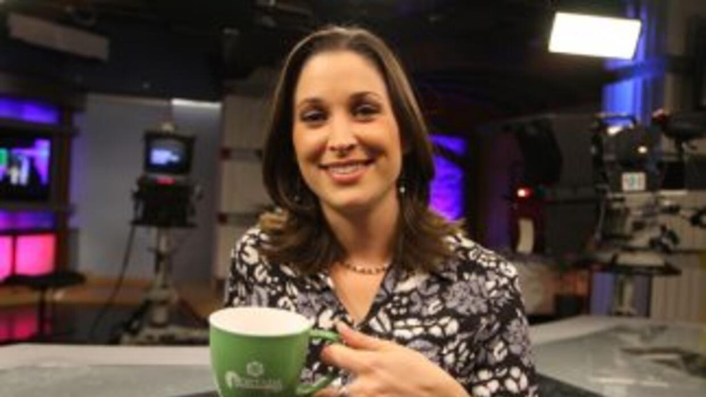 Arantxa Loizaga, conductora de Noticias 41 y de Portada SA, producido en...